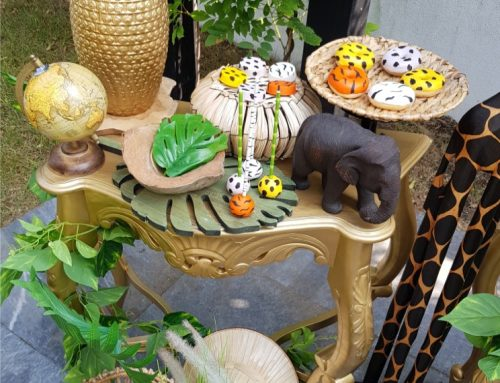 Jungle sweet table sweets