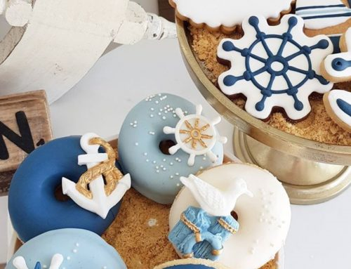 Nautical donuts en koekjes