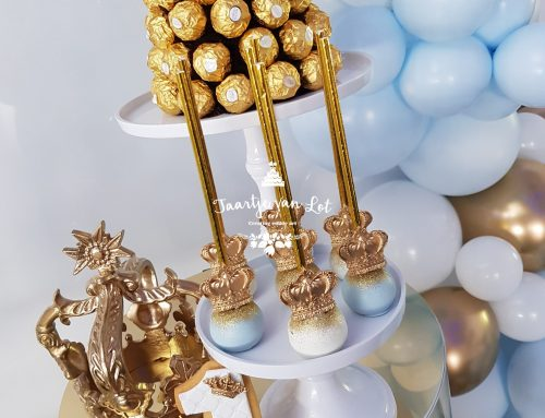 Royal cakepops